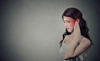telinga kiri berdenging